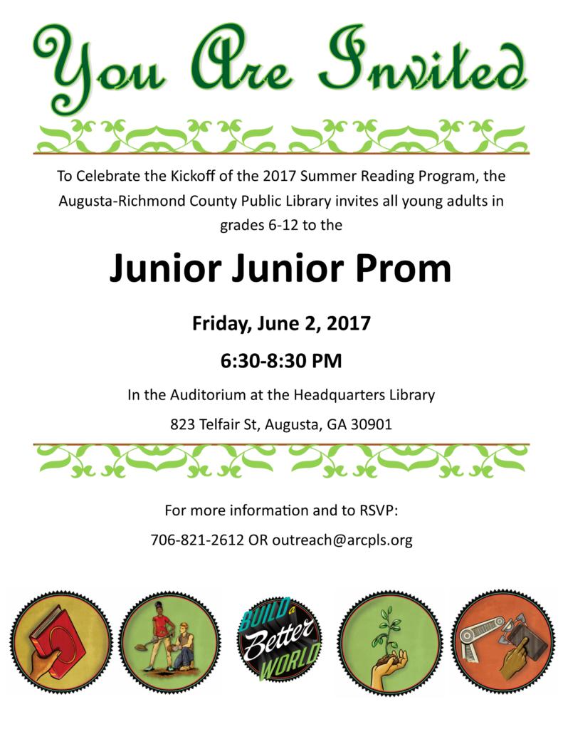 Junior Junior Prom Invitation