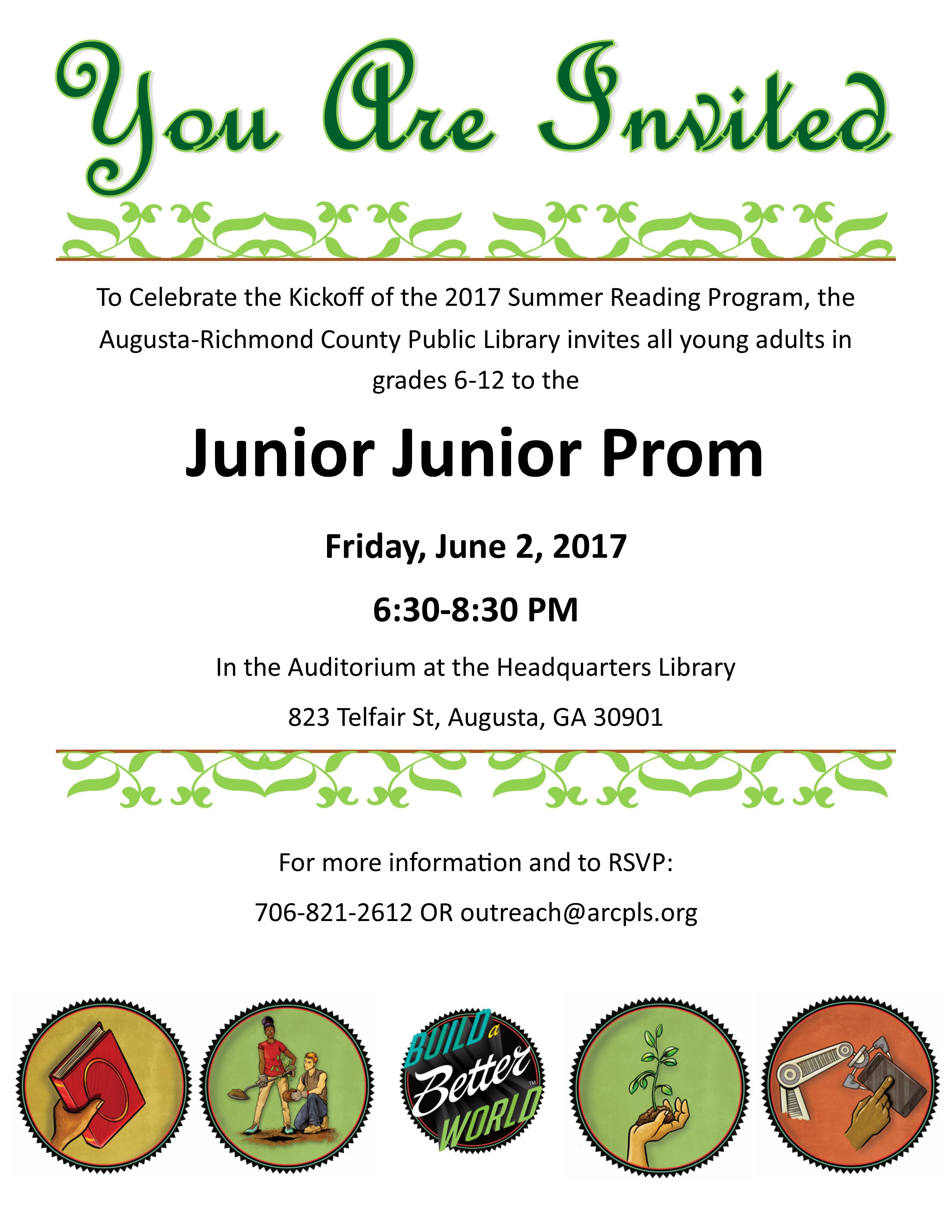 Jr Prom Invitations