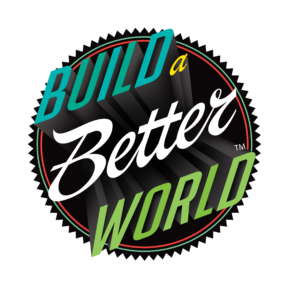 Build a Better World slogan