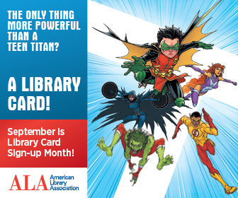 library card more powerful than a teen titan