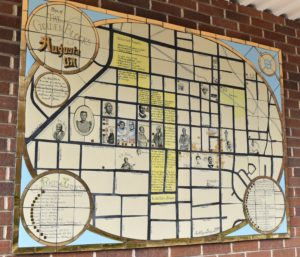 Augusta's Golden Blocks Project makes its way to the Wallace Branch Library